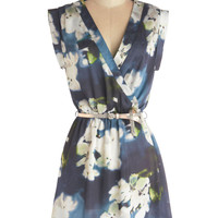 Soft Focus Florals Dress