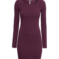 H&M - Jersey Dress - Blue - Ladies