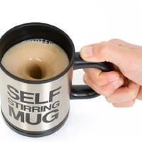 Automatic mixing cup coffee cup creative and practical