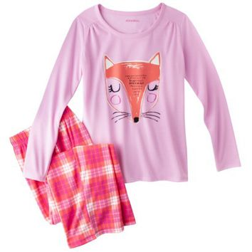 Xhilaration® Girls' Long-Sleeve Pajama Set
