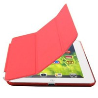 Zeimax iPad Mini Ultra Thin Magnetic Smart Cover & Back Case (Red)
