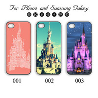 Castle,Disney,iPhone 5 case,iPhone 5C,iPhone 5S,Samsung Galaxy S3, Samsung Galaxy S4 Phone case,iPhone 4 Case, iPhone 4S Case