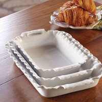 Primavera Ruffled Bakers - Cook's Tools & Accessories - Kitchen & Cooking - NapaStyle