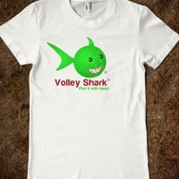 Volleyball Volley Shark neon green