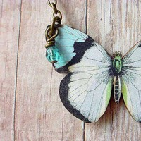 Butterfly Series 06 by MySelvagedLife on Etsy