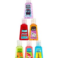 6-Pack PocketBac Sanitizers Ready, Jet Set, Go Bundle