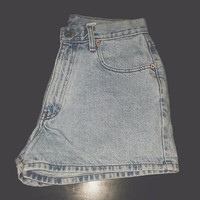 High Waisted Calvin Klein Denim Shorts WAIST SIZE 29""