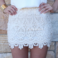 LACE SKIRT , DRESSES, TOPS, BOTTOMS, JACKETS & JUMPERS, ACCESSORIES, 50% OFF SALE, PRE ORDER, NEW ARRIVALS, PLAYSUIT, COLOUR, GIFT VOUCHER,,SKIRTS,White,LACE Australia, Queensland, Brisbane