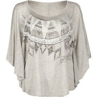 FULL TILT Womens Ethnic Poncho