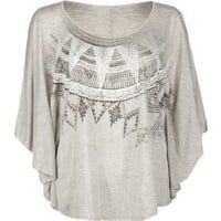 Amazon.com: FULL TILT Womens Ethnic Poncho