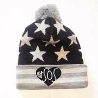 5 Seconds of Summer Beanie Pompom New Style