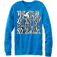 Casual Wear | Zebra Volleyball Long Sleeve T-Shirt