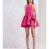 CAMEO Winter Wind Dress RASPBERRY