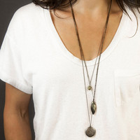 Layered Necklace Set, Bohemian Necklaces, Simple Long Necklaces Boho, DIY Layering Necklace Set