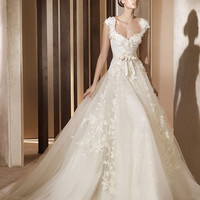 New Ivory/White Wedding dress Bridal Gown custom size 2-4-6-8-10-12-14-16-18-20-22-24-26-28