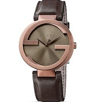 Gucci Interlocking PVD Watch, 42mm