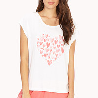 Fluttered Hearts PJ Set