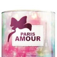 Bath and Body Works Paris Amour 3 Wick Candle