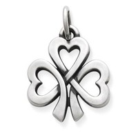 Shamrock of Hearts Charm: James Avery