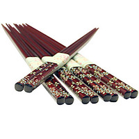 Chopsticks Set - Colored Flowers on Brown - AsianFoodGrocer.com | AsianFoodGrocer.com, Shirataki Noodles, Miso Soup