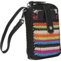 The Sak Classic Crochet Smartphone Wristlet