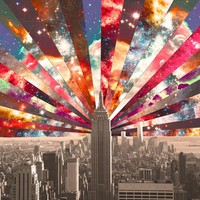 Superstar New York Stretched Canvas by Bianca Green