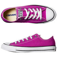 SURFSTITCH - FOOTWEAR - WOMENS FOOTWEAR - SNEAKERS - CONVERSE WOMENS CHUCK TAYLOR ALL STAR SEASONAL SHOE - PURPLE CACTUS FLOWER