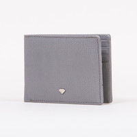 Elephant Bi-Fold Wallet in Grey