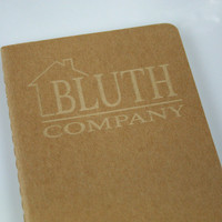 Bluth Company cahier moleskine notebook. Unlined.