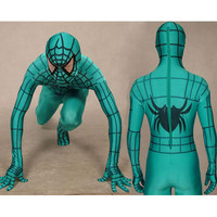 Lycra Spandex Blue Spiderman Costume with Black Stripes Full Body [TWL110916015] - $36.99 : Zentai, Sexy Lingerie, Zentai Suit, Chemise