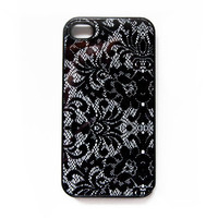 Lace Pattern iPhone 4 Case New iPhone 4 & iPhone 4s by afterimages