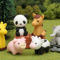 Iwako Zoo Animal Single-Pack Erasers *$0.99 Each*