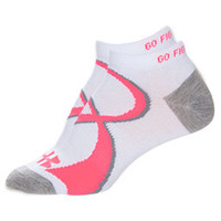 Women's Under Armour Power In Pink Athletic Socks 2-Pack