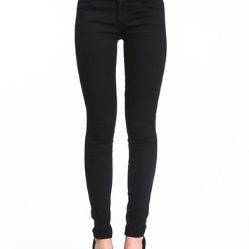 HIGH WAISTED TUX JEANS