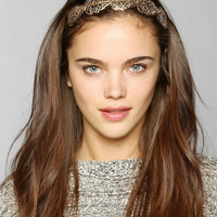 Filigree Leaf Headband - Urban Outfitters