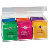 Clear 6-Cell Tea Chest