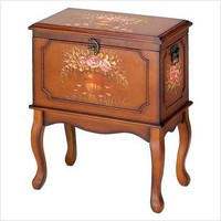 Victorian Wood Cabinet | BlackBearGifts - Furnishings on ArtFire