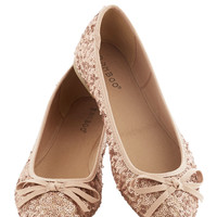 Go for the Rose Gold Flat | Mod Retro Vintage Heels | ModCloth.com