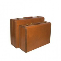 Vintage Samsonite Suitcase Set | VintageModern - Retro/Kitsch on ArtFire