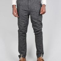 Anerkjendt Billy Tweed Trousers - Charcoal Grey