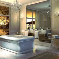 Maax Roman Freestand Bathtub