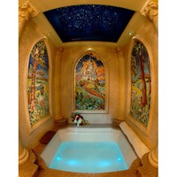 Princess Whirlpool Spa Bath Tub | Clean Quiet Pipeless Technology