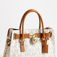 Women's MICHAEL Michael Kors 'Hamilton Signature' East/West Satchel