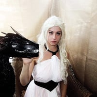 Daenerys white Dress - Costume Cosplay - Game of Thrones