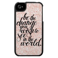 Be the Change iPhone Case