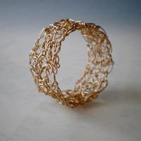 Crochet Gold Filled Ring | Luulla