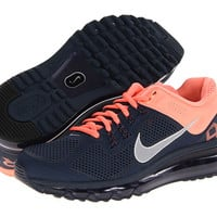 Nike Air Max + 2013 Armory Navy/Atomic Pink/Reflect Silver - Zappos.com Free Shipping BOTH Ways