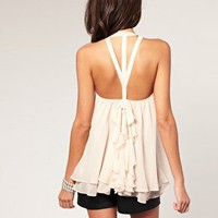 ASOS | ASOS Ruffle Bow Back Camisole at ASOS
