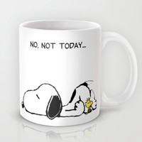 No, not today. Mug by John Medbury (LAZY J Studios)