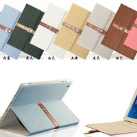 Business Style Smart Cover With Belt Buckle Stand Case For Apple Ipad Air - Buy Belt Buckle Case For Ipad Air,Business Style Case For Ipad Air Product on Alibaba.com